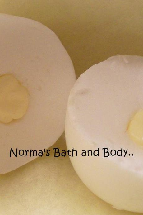 boiled egg goats milk glycerin soap. party favor soap