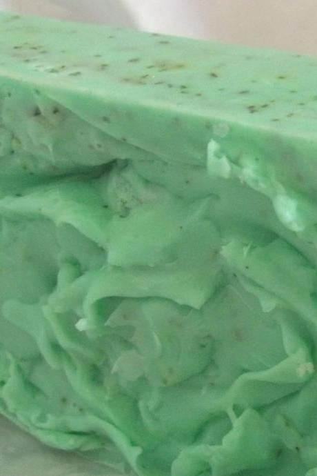 Peppermint and Spearmint Soap- Soap- Soap- Handmade Soap- Glycerin Soap- Peppermint Soap- Spearmint Soap