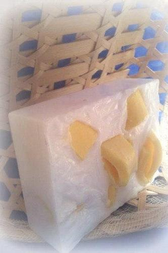 lemon and rosemary glycerin soap