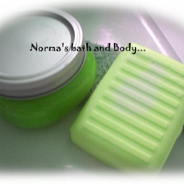 cucumber melon bath and body set